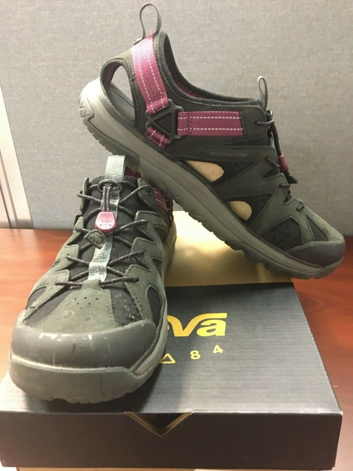 Teva Terra-Float Active Lace Sandal - Women's Hiking SKU 1018733_BLK Size 9