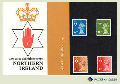 1976 Northern Ireland Definitive Stamp Presentation Pack PPD17 (printed no.84)