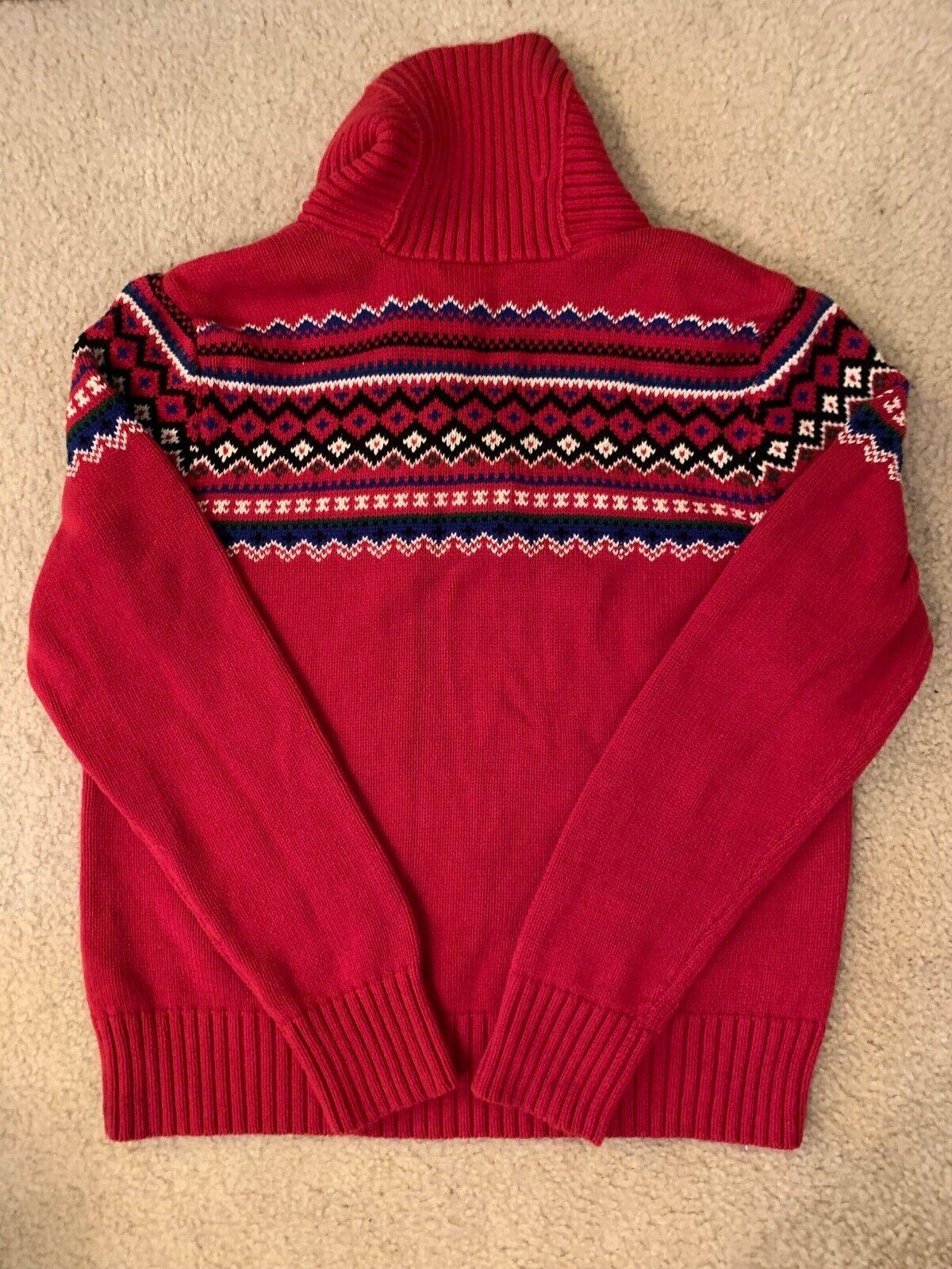 Lauren Ralph Lauren Classic Red Sweater - image 4