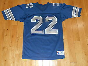 buy popular 6575b ce44b Details about VINTAGE 90s CHAMPION EMMITT SMITH DALLAS COWBOYS MENS NFL  TEAM REPLICA JERSEY 44