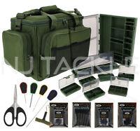 Ngt Fishing Luggage Terminal Set Carryall Tackle Box Baiting Needle Scissor