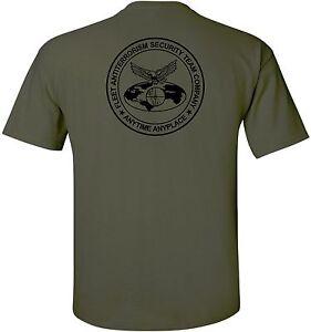 Usmc United States Marine Corps Fast Company T Shirt Ebay