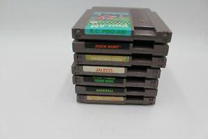 NINTENDO-NES-LOT-of-7-GAMES