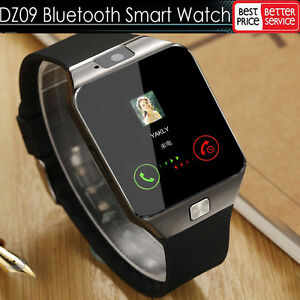 8f99c9ba5 Image is loading LATEST-DZ09-Bluetooth-Smart-Watch-Camera-SIM-Slot-