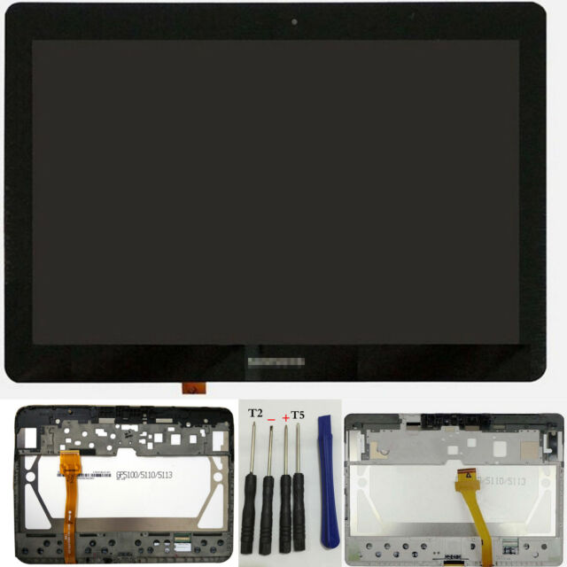 For Samsung Galaxy Tab 2 P5100 P5110 LCD Touch Screen Digitizer Assembly White