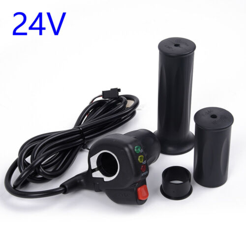 24V24V//36V36V//48V Half Throttle W//LED Voltage Display For Electric Bike E-bike