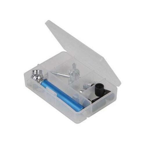 GD130634 Silverline Reifen Ventil Reparatur-Kit 14pce 10-50psi KFZ-Werkzeug