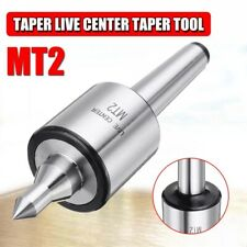 Mt2 0001 Accuracy 5000 Rpm Max Steel Lathe Live Center Taper Tool Triple M1c2