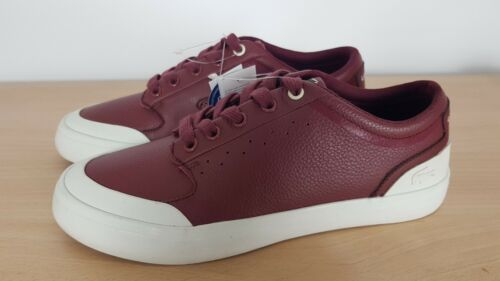 Sport 4 Ladies Lacoste 37 Scarpe in marrone 4hnd Uk Eu 15 bordeaux pelle Decolleté dqTw6T5P
