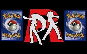🚀 TEAM ROCKET SET - RANDOM POKEMON CARD LOT 🚀 Pokémon Original Set 2000 WOTC