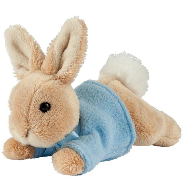 Gund A27364 Beatrix Potter Plush Lying Peter Rabbit Small