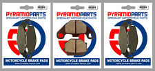 Kawasaki GPZ 500 S (Austria) 1997 Front & Rear Brake Pads Full Set (3 Pairs)