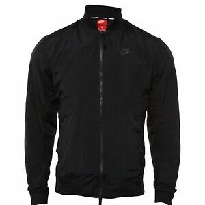 38184d6502cb Nike 886253-010 Men s Sportswear Franchise Varsity Jacket Black Size ...