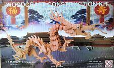 Dragon: Woodcraft Construction Wooden 3D Model Kit CX 100 2 piece