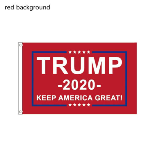 2020 Banners Donald Trump Flag President Reelection Red Flag Election Flags