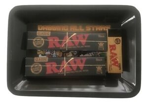 Raw-King-Size-Classic-Black-Rolling-Papers-Tray-Bundle-Kit-Raw-Tips-All-Stars