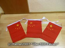 Fahnen Flagge Flaggenkette China 6 Meter Lang