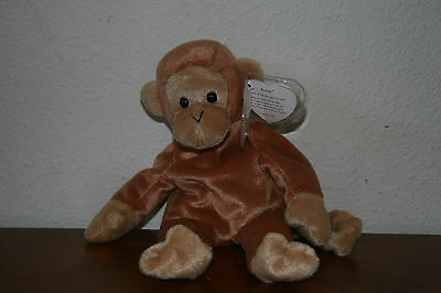 Toys Hobbies Retired Ty Beanie Baby Bonsai W Near Mint Hang Tag The Monkey
