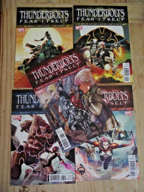 Thunderbolts #158-162 Fear Itself complete VF\NM