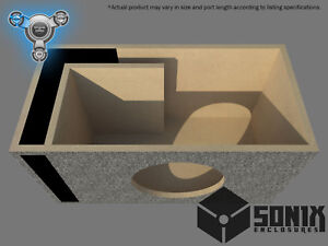STAGE 1 - PORTED SUBWOOFER MDF ENCLOSURE FOR JL AUDIO 12W3V2 SUB BOX
