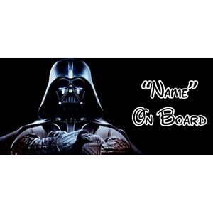 Star Wars Personalizado Bebé A Bordo Coche Firmar 3