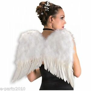FEATHER-Adult-ANGEL-WINGS-Halloween-Costume-Party-Supplies-Dress-Up-Cosplay