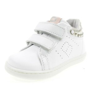 Image is loading Balducci-mentions-1063-White-Shoes-Baby-Sneakers-Junior- 75011b8ce55