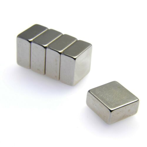 """Very Strong Magnets 5.25Kg PULL Powerful Block Magnet 1//2/"""" x 1//2/"""" x 1//4/"""""""