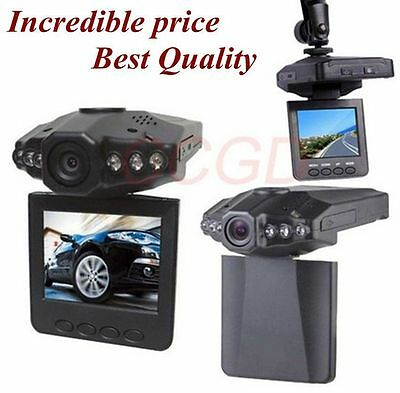 "2.5"" CAR DVR Vehicle Video Camera IR DVR Cam CCTV Night Vision Recorder F198"