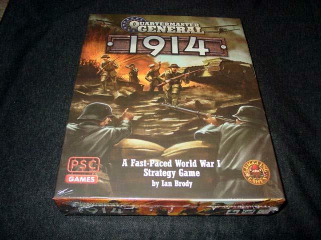 PSC & griggling Juegos  1914 rápido ritmo WW1-timonel general (sellado)