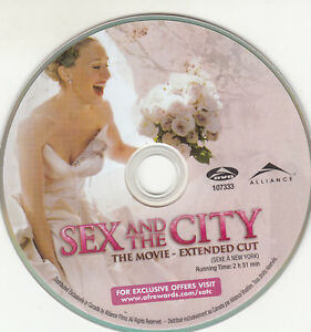 Sex-and-the-City-The-Movie-DVD-2008-Widescreen-EXTENDED-CUT-DISC-ONLY