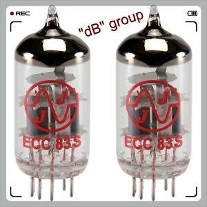 2x-ECC83S-JJ-Electronic-valvole-NUOVE-matched-selezionate-12AX7-COPPIA-PAIR-DUET
