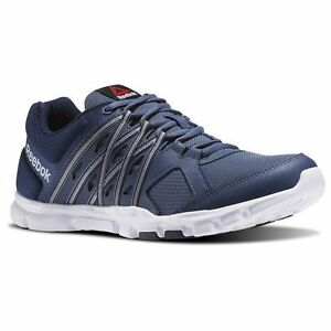 Reebok Men S Blue Yourflex Train   Running Athletic Shoes