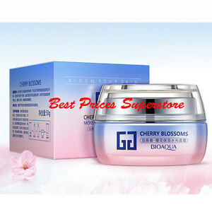 7c3fe6cd26 Details about BIOAQUA Cherry Blossoms Smoot Moist Facial Cream Moisturizing  Herbal Essences