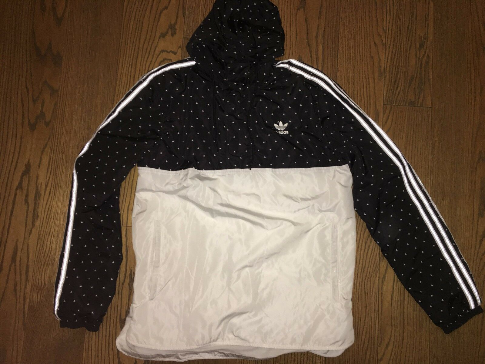 Adidas x Pharrell Williams HU Human Race Jacket Sz:XS Woven Hoodie BR1823 Rare