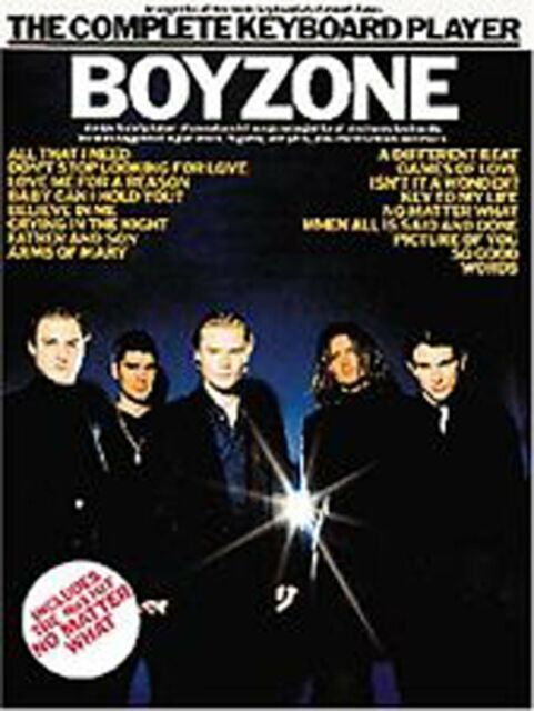The Complete Keyboard Player Boyzone Sheet Music Songbook 17 Hit Songs S06