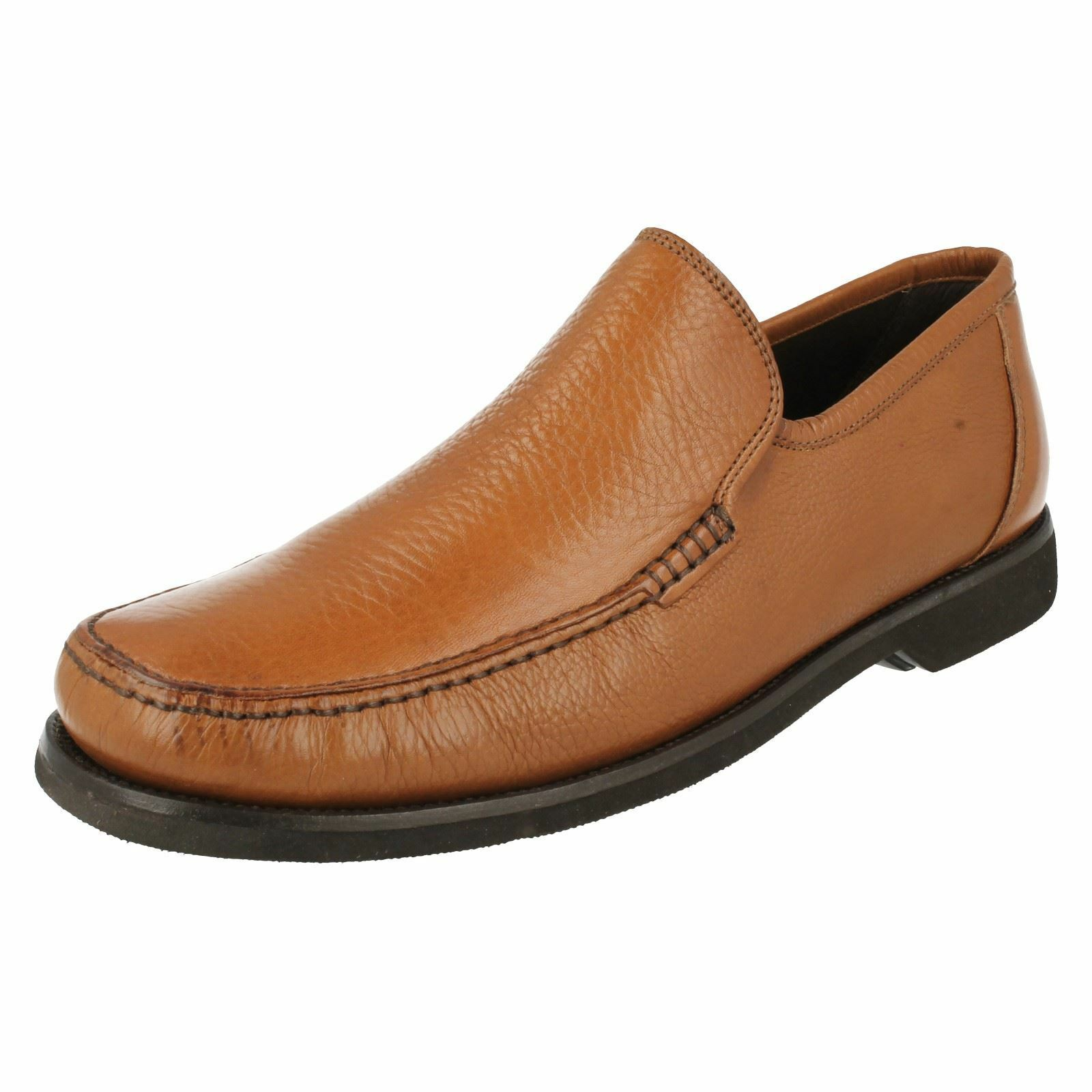 Mens Anatomic Smart Slip On Moccasin Shoes Angra