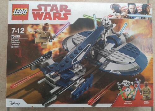 BOITE SET LEGO STAR WARS VAISSEAU 75199 NEUF GENERAL GRIEVOUS COMBAT SPEEDER