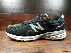 1646c22ad1688 Image is loading New-Balance-M990MB4-Suede-Mens-Running-990v4-Black-