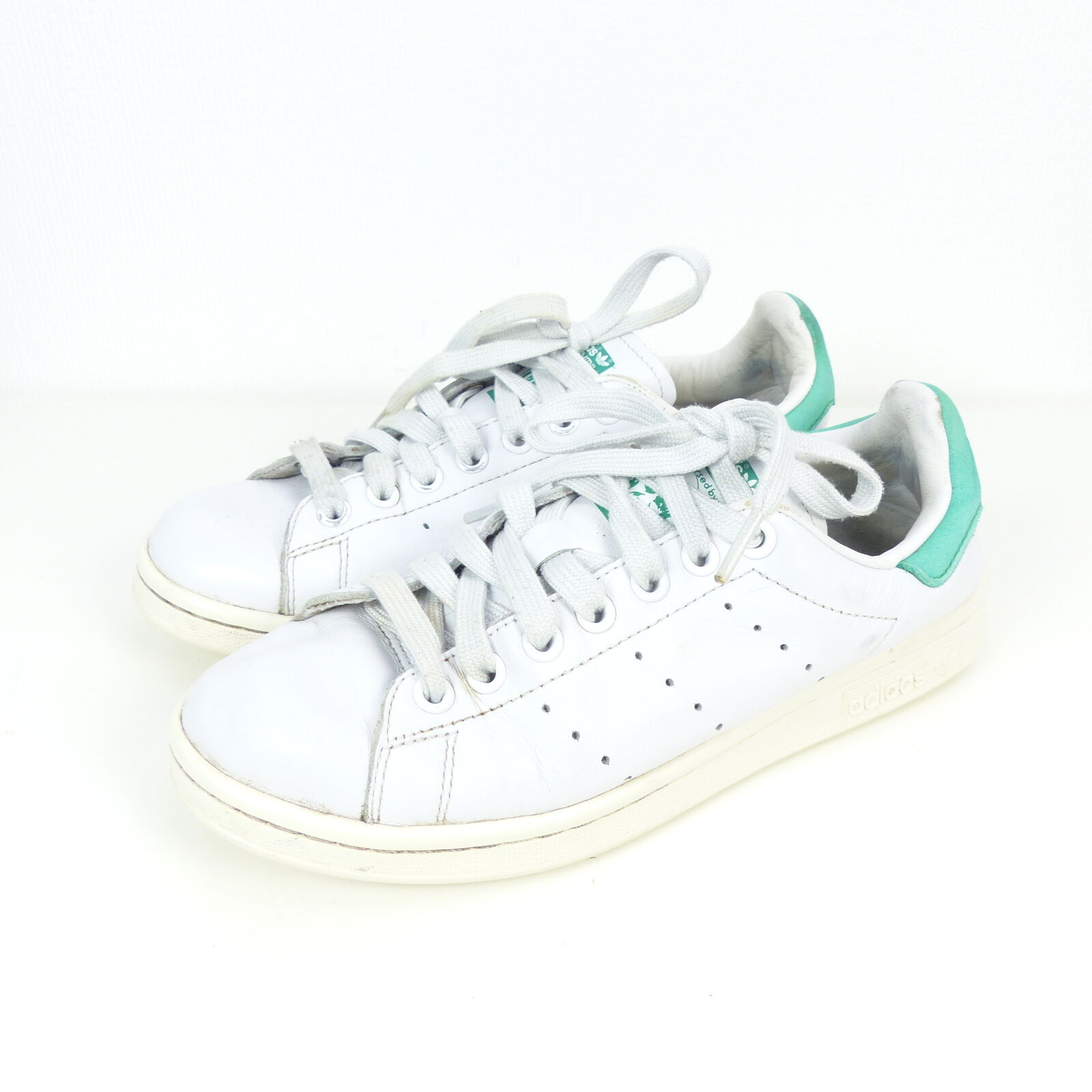 ADIDAS Sneaker Turnschuhe Stan Smith white green Gr. US 5,5