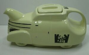 Hall-China-Tavern-Silhouette-Automobile-Car-Teapot-Limited-Edition-RARE