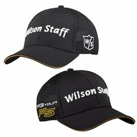 Wilson Staff Fg Tour F5 Mesh Golf Hat Adjustable Black 2016 on sale