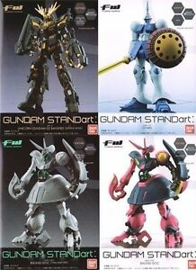 Gundam-STANDart-Lot-of-4-Fusion-Work-Unicorn-Banshee-Baund-Doc-Gyan-Bandai