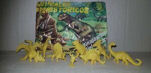Vintage-1970s-Prehistoric-animals-Playsets-Dinosaur-Like-Airfix-Marx-Sealed