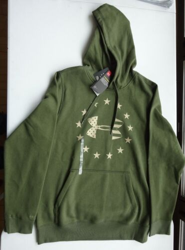 Under Armour Men/'s Freedom Big Flag Logo Tactical Hoodie NWT