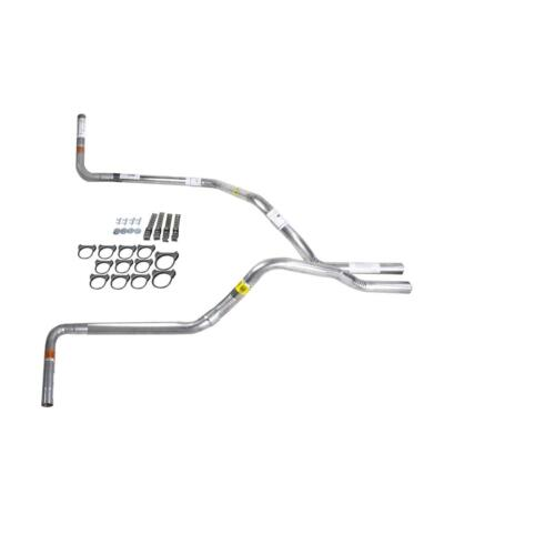 Ram 09-13 dual exhaust 2.25 pipe No Muffler   Side Exit