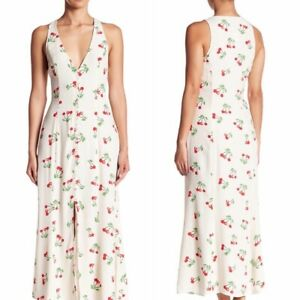 NWT-Privacy-Please-Revolve-Cherry-Maxi-Dress-Reformation