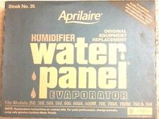 Aprilaire #35 Humidifier Water Panel fits Aprilaire model #'s 600, 600A and 600M