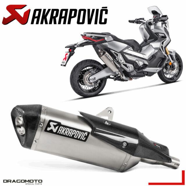 HONDA X-ADV 2017 2018 Pot échappement AKRAPOVIC Titane