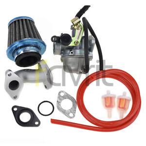 image is loading pz19mm-carburetor-air-fuel-filter-intake-110cc-peace-
